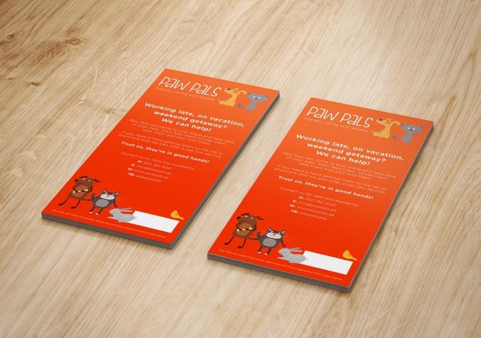 Leaflet Mockup - 99x210
